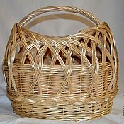 Для дома и интерьера handmade. Livemaster - original item Bag basket wicker. Handmade.