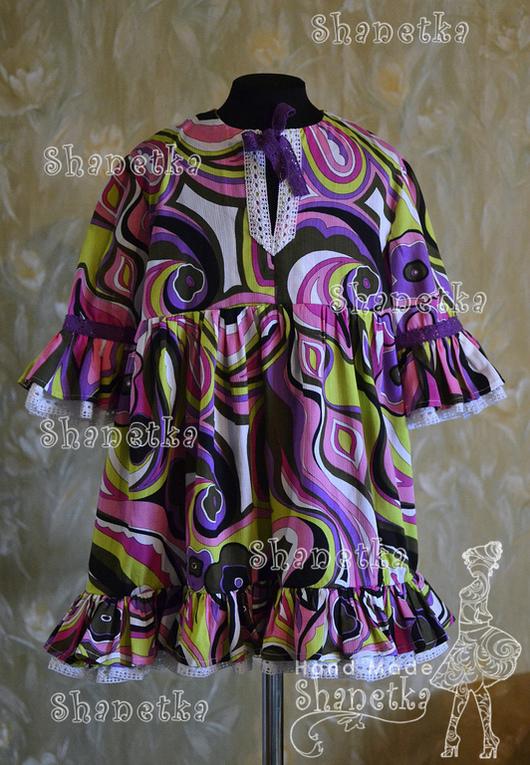 платье хлопок для девочки