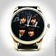 """Часы ручной работы. Ярмарка Мастеров - ручная работа. Купить Часы наручные """"The Beatles"""". Handmade. Для мужчин, Великобритания"""