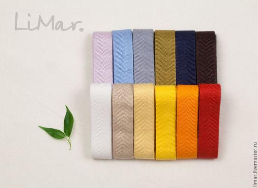 Шитье ручной работы. Ярмарка Мастеров - ручная работа. Купить Киперная лента 18 мм, 13 цветов. Handmade. Шитье