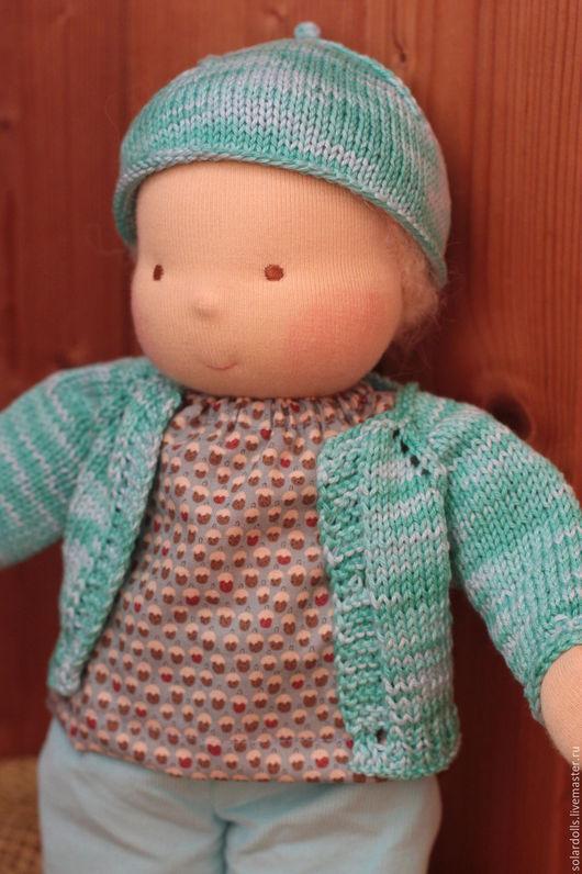 Мирон 37 см. Вальдорфская кукла Julia Solarrain (SolarDolls) Ярмарка Мастеров