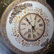Для дома и интерьера ручной работы. Ярмарка Мастеров - ручная работа Часы настенные по мотивам Благородная классика. Handmade.