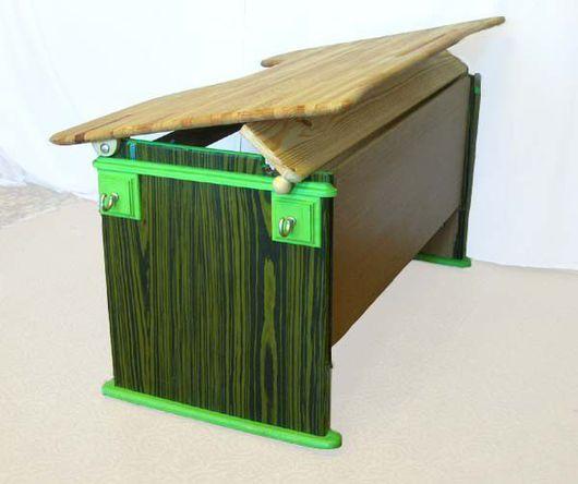 Детская ручной работы. Ярмарка Мастеров - ручная работа. Купить Парты из натурального дерева. Handmade. Письменный стол, мебель для школьника
