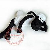 Куклы и игрушки handmade. Livemaster - original item Shaun The Sheep (Timmy). knitted toy.. Handmade.