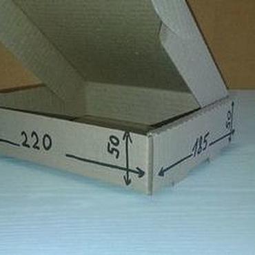 Материалы для творчества ручной работы. Ярмарка Мастеров - ручная работа Почтовая коробка Тип №1. Handmade.