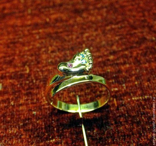 Кольца ручной работы. Ярмарка Мастеров - ручная работа. Купить Кольцо  золотое РОЖДЕНИЕ СЫНА. Handmade. Золотой, камни-самоцветы