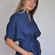 Одежда handmade. Livemaster - original item linen dress.. Handmade.