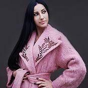 Одежда handmade. Livemaster - original item Exclusive coat with embroidered