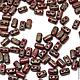 Для украшений ручной работы. Ярмарка Мастеров - ручная работа. Купить Чешские бусины Rulla, Красный мрамор, Рулла Чехия, 5гр. Handmade.