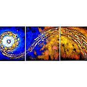 Картины и панно handmade. Livemaster - original item Radiant abstraction. Handmade.