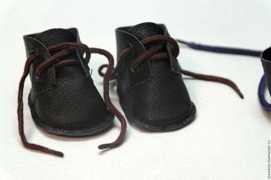 Одежда для кукол ручной работы. Ярмарка Мастеров - ручная работа. Купить Ботинки для куклы Беби Бон. Handmade. Коричневый