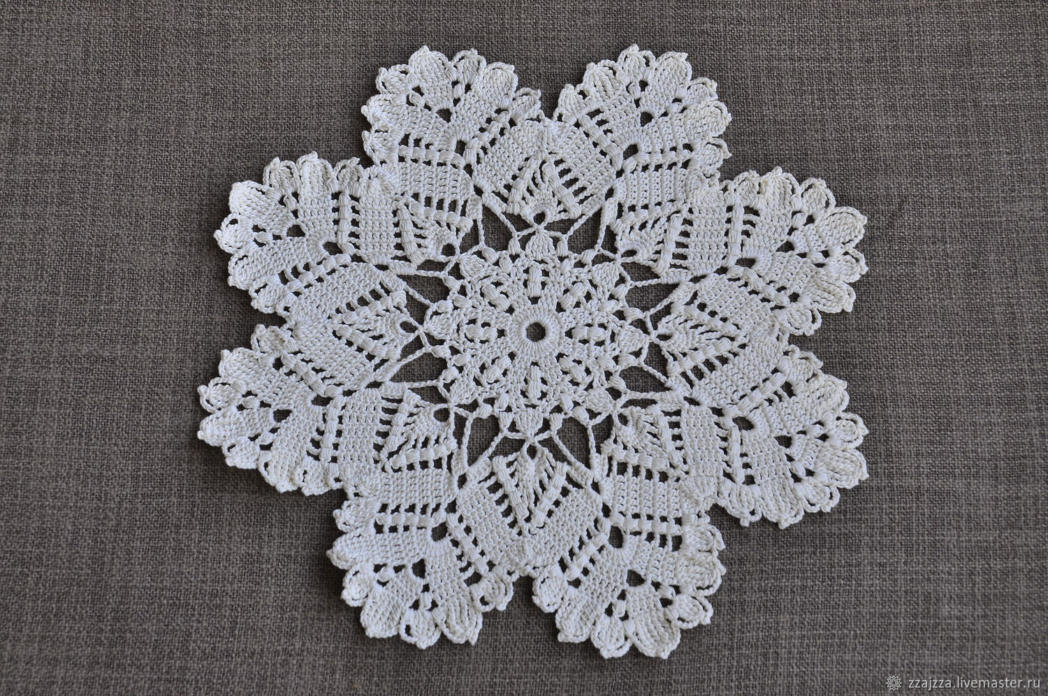 Crochet Doily Snowflake Shop Online On Livemaster With Shipping