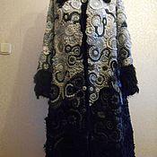 Одежда ручной работы. Ярмарка Мастеров - ручная работа пальто фриформ. Handmade.
