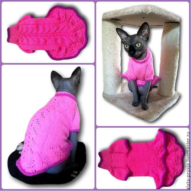 Вязать одежда для кошек своими руками
