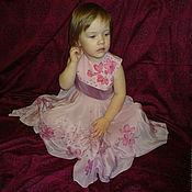 """Работы для детей, ручной работы. Ярмарка Мастеров - ручная работа Платье для девочки  """"Сакура"""". Handmade."""