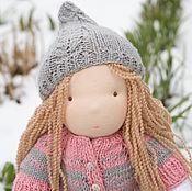 Куклы и игрушки ручной работы. Ярмарка Мастеров - ручная работа Вальдорфская кукла для одевания Мия. Handmade.