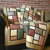 Blankets handmade. Livemaster - original item Patchwork blanket the lake House patchwork. Handmade.