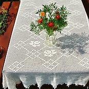 Для дома и интерьера handmade. Livemaster - original item Tablecloth knitted Sweet home. Handmade.