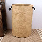 Для дома и интерьера handmade. Livemaster - original item Basket made of textile craft (size L). Handmade.