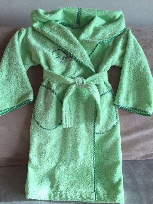Одежда унисекс ручной работы. Ярмарка Мастеров - ручная работа. Купить Банный халат махровый. Handmade. Халат, хлопок 100%