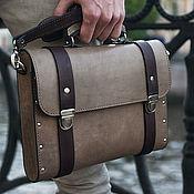 Сумки и аксессуары handmade. Livemaster - original item Oswer leather and wood tablet bag. Handmade.