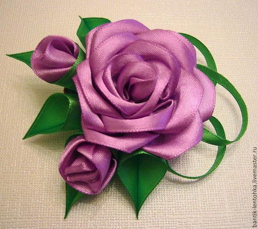 """Броши ручной работы. Ярмарка Мастеров - ручная работа. Купить Брошь """"Розовый букет"""". Handmade. Розовый, брошь"""