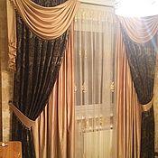 Для дома и интерьера ручной работы. Ярмарка Мастеров - ручная работа Дизайн и пошив штор. Handmade.