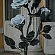 Цветы ручной работы. Белый куст розы. Цветочная мастерская Flowersdesire. Интернет-магазин Ярмарка Мастеров. Для дома и интерьера