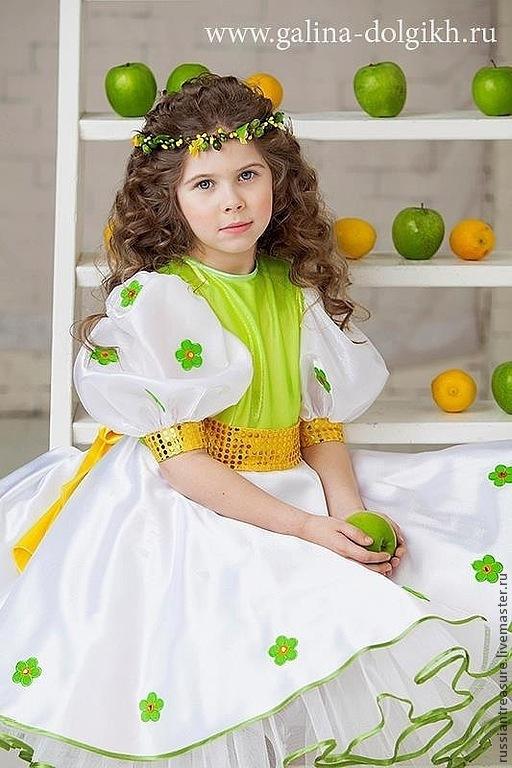 """Диадемы, обручи ручной работы. Ярмарка Мастеров - ручная работа. Купить Венок на голову из ягод """"Лимонные Дольки"""". Handmade. веночек"""