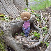 Куклы и игрушки ручной работы. Ярмарка Мастеров - ручная работа Мишка тедди Митя. Handmade.