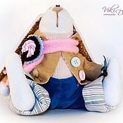 Куклы и игрушки ручной работы. Ярмарка Мастеров - ручная работа Тильда-зайчик Морской. Handmade.