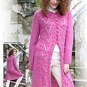 Одежда handmade. Livemaster - original item Author coats out of mohair. Handmade.
