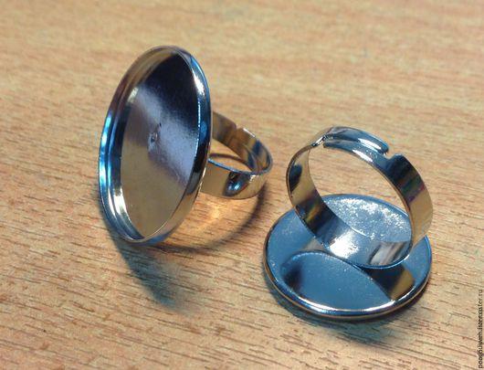 Для украшений ручной работы. Ярмарка Мастеров - ручная работа. Купить Основа для кольца универсальная 20 и 25 мм.. Handmade.