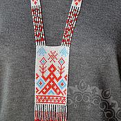 "Украшения handmade. Livemaster - original item Copy of Pendant ""Makosh"", necklace,Gerdan. Handmade."