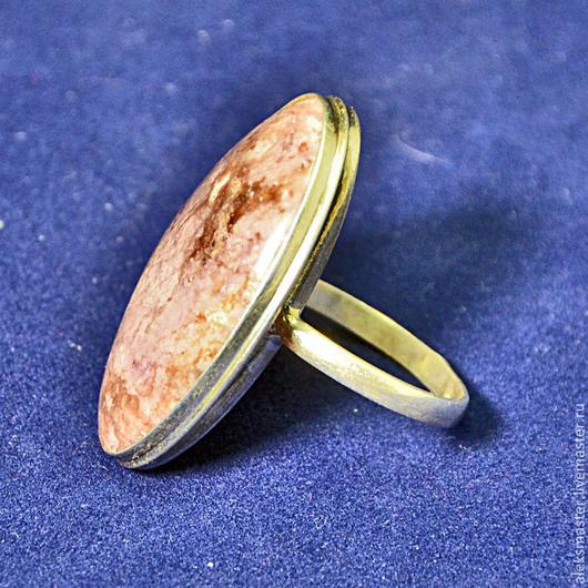 Кольца ручной работы. Ярмарка Мастеров - ручная работа. Купить Кольцо с родингитом. Handmade. Подарок, кольцо с камнем