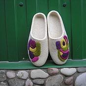 """Обувь ручной работы. Ярмарка Мастеров - ручная работа Валяные тапочки """" Ассорти"""". Handmade."""