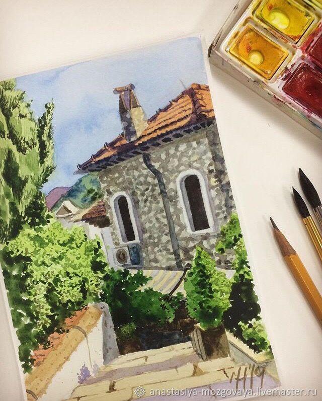 Старый город Мармариса, Картины, Краснодар, Фото №1