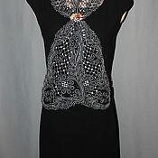 Аксессуары handmade. Livemaster - original item Summer scarf Vologda Vyatka lace. Handmade.