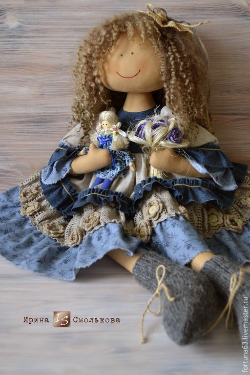 Человечки ручной работы. Ярмарка Мастеров - ручная работа. Купить АНФИСКА. Handmade. Интерьерная кукла, эксклюзивный подарок, кукла авторская