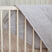 Для дома и интерьера ручной работы. Ярмарка Мастеров - ручная работа Стеганое одеяло. Handmade.