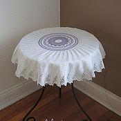 Для дома и интерьера ручной работы. Ярмарка Мастеров - ручная работа Мини-скатерть Волшебный вихрь. Handmade.
