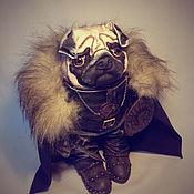 Куклы и игрушки handmade. Livemaster - original item Pug warrior. Handmade.
