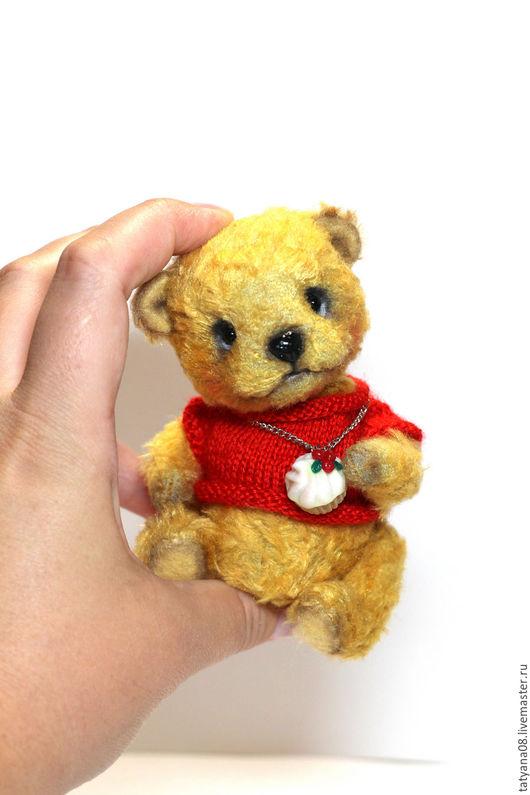 Мишки Тедди ручной работы. Ярмарка Мастеров - ручная работа. Купить Мой любимый мишка. Handmade. Комбинированный, шерстепон