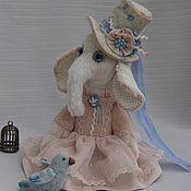 """Куклы и игрушки ручной работы. Ярмарка Мастеров - ручная работа Слоник """"Маленькая Петербурженка"""". Handmade."""