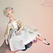 Куклы и игрушки ручной работы. Ярмарка Мастеров - ручная работа Селестина - авторская текстильная кукла. Handmade.