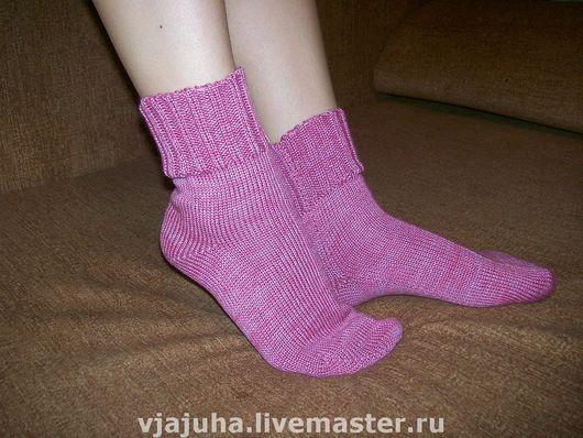 Носки, Чулки ручной работы. Ярмарка Мастеров - ручная работа. Купить НОСКИ ПОЛУШЕРСТЯНЫЕ. Handmade. Носки, теплые носки, полушерсть