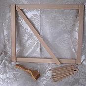 Материалы для творчества ручной работы. Ярмарка Мастеров - ручная работа Рамка для гобеленов. Handmade.