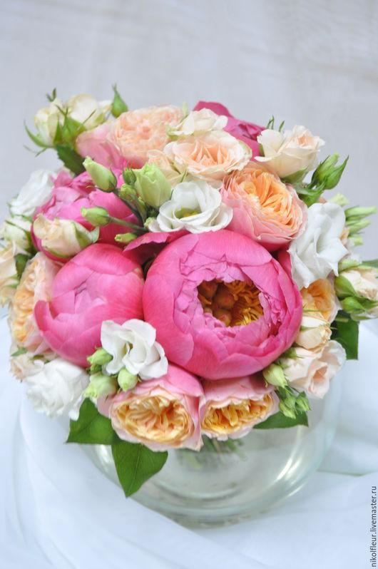 Цветы ручной работы. Ярмарка Мастеров - ручная работа. Купить Букет невесты. Handmade. Комбинированный, свадьба