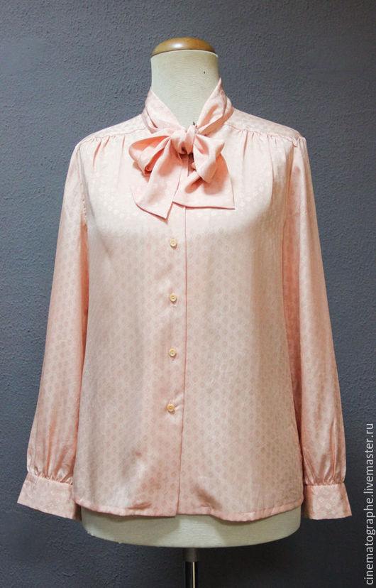 Одежда. Ярмарка Мастеров - ручная работа. Купить Блуза Lameek Япония винтаж. Handmade. Бежевый, блуза, блузка, винтаж