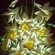 Картины цветов ручной работы. Панно :Цветы весны.Нарциссы. Ирина / ТМ 'Сказка'. Интернет-магазин Ярмарка Мастеров.